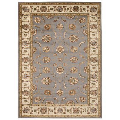 Lukeson Blue Rug Rug Size: Rectangle 710 x 106