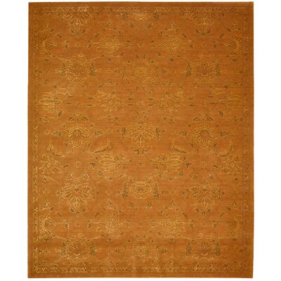 Silk Infusion Copper Area Rug Rug Size: 79 x 99