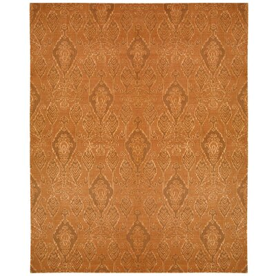 Pine Air Dark Rust Area Rug Rug Size: Rectangle 53 x 75