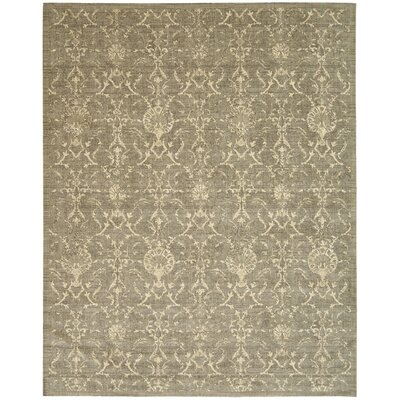 Silk Elements Moss Area Rug Rug Size: 56 x 8