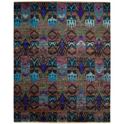 Pinos Hand knotted Area Rug Rug Size: Rectangle 56 x 8