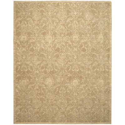 Silk Elements Sand Area Rug Rug Size: Rectangle 79 x 99