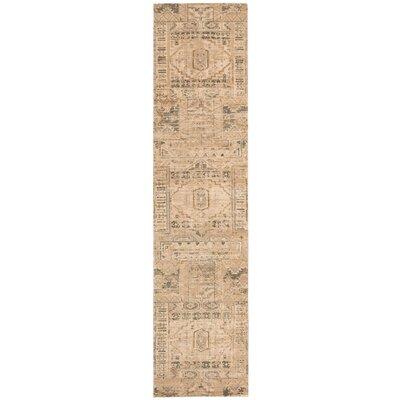 Silk Elements Beige Rug Rug Size: Runner 25 x 10