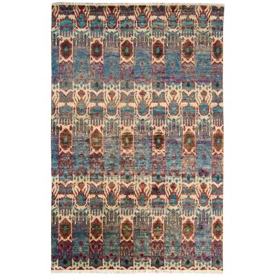 Pinos Hand knotted Ikat Area Rug Rug Size: Rectangle 99 x 139