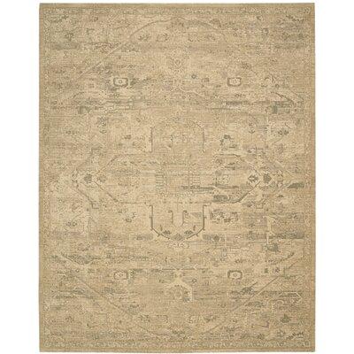 Silk Elements Sand Medallion Area Rug Rug Size: 56 x 8