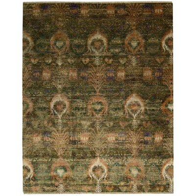 Pinos Traditional Hand knotted Area Rug Rug Size: Rectangle 99 x 139
