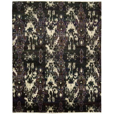 Pinos Modern Hand knotted Area Rug Rug Size: Rectangle 56 x 8