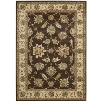 Baum Chocolate Area Rug Rug Size: 23 x 39