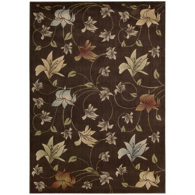 Onaway Chocolate Rug Rug Size: Rectangle 53 x 75