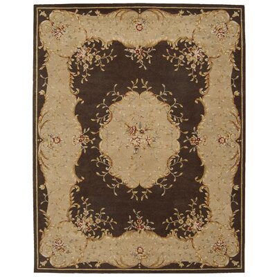 Axella Hand-Tufted Brown Area Rug