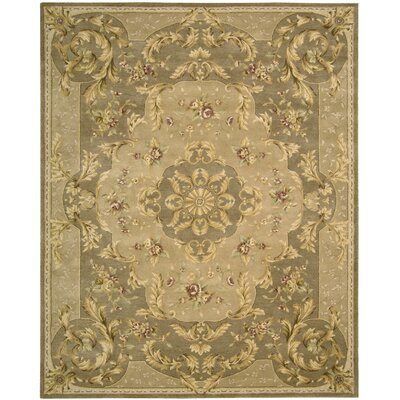 Axella Taupe Oriental Area Rug Rug Size: Rectangle 56 x 86
