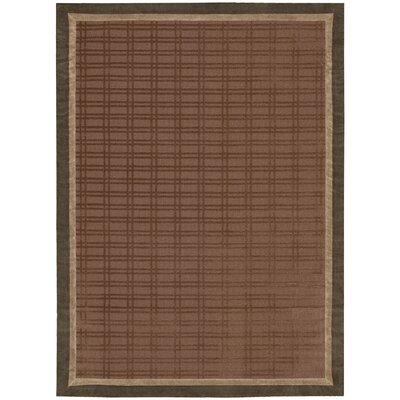 Plattville Chocolate Area Rug Rug Size: Rectangle 23 x 39