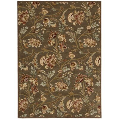 Broomhedge Brown Area Rug Rug Size: 8 x 11