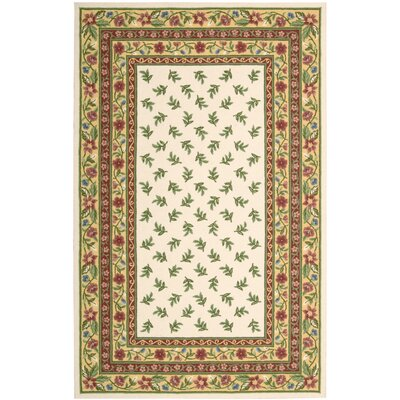Kendall Ivory Rug Rug Size: Rectangle 26 x 42