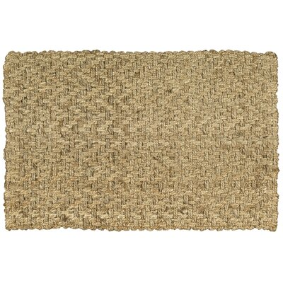 Basketweave Nature Area Rug Rug Size: 26 x 4
