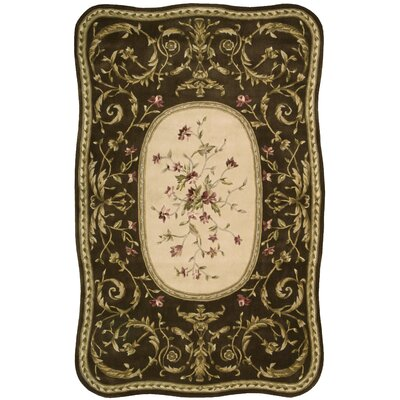 Serenata Brown Rug Rug Size: 53 x 83