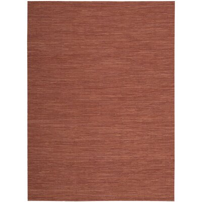 Denieron Hand-Woven Spice Area Rug Rug Size: Rectangle 56 x 75
