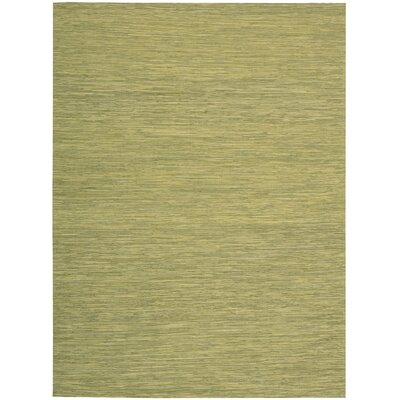 Denieron Hand-Woven Wasabi Area Rug Rug Size: Rectangle 8 x 10