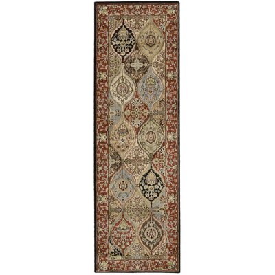 Cantrell Multi Rug Rug Size: Runner 23 x 76