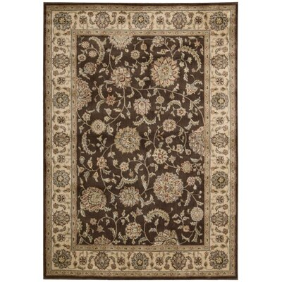 Baum Brown Rug Rug Size: Rectangle 53 x 75