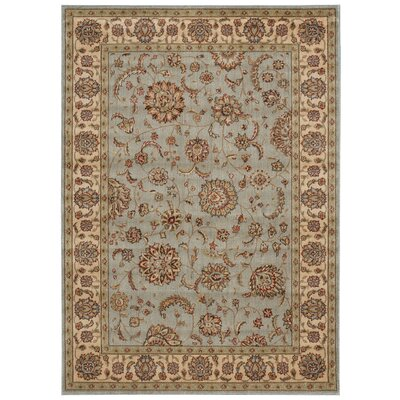 Baum Light Blue Area Rug