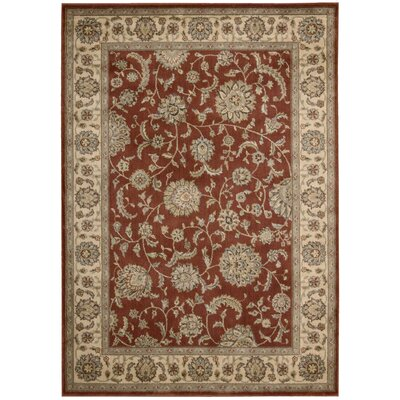 Baum Rust Rug Rug Size: Rectangle 53 x 75