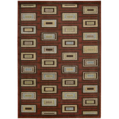 Whitestown Burgundy Rug Rug Size: Rectangle 79 x 1010
