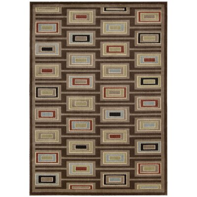 Whitestown Chocolate Rug Rug Size: 53 x 75