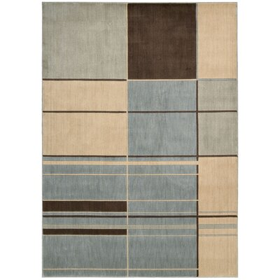 Candee Aqua Area Rug Rug Size: Rectangle 23 x 39