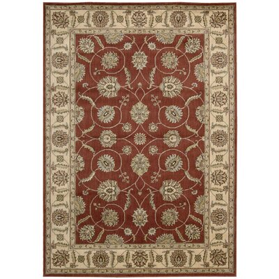 Baum Brick Rug Rug Size: Rectangle 53 x 75