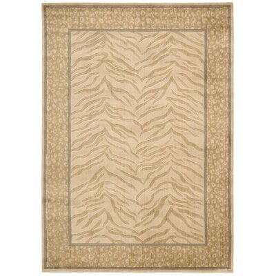 Yasmin Ivory Area Rug Rug Size: Rectangle 53 x 75