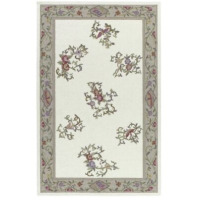 Kendall Hand Hooked Ivory Rug