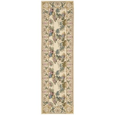 Country Heritage Beige Rug Rug Size: Runner 23 x 8