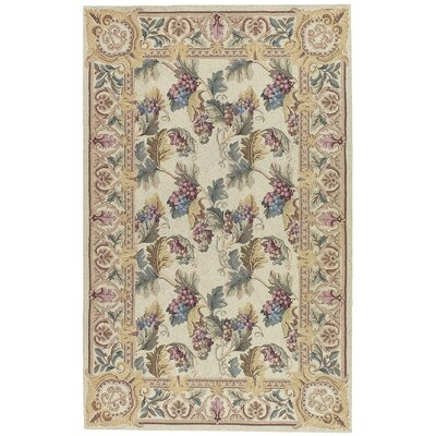 Country Heritage Beige Rug Rug Size: 36 x 56