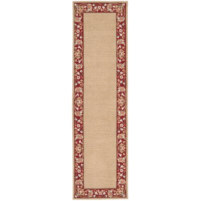 Country Heritage Gold Rug Rug Size: Runner 23 x 8