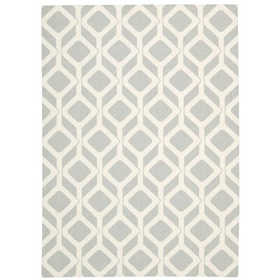 Conforti Gray Geometric Area Rug Rug Size: Rectangle 5 x 7