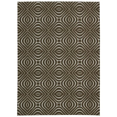Conforti Chocolate Area Rug Rug Size: 4 x 6