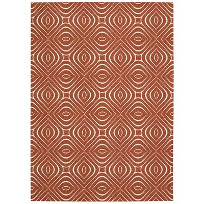 Conforti Paprika Area Rug Rug Size: Rectangle 26 x 4