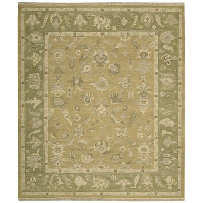 Nourmak Encore Hand-Woven Sand Area Rug Rug Size: 8'6