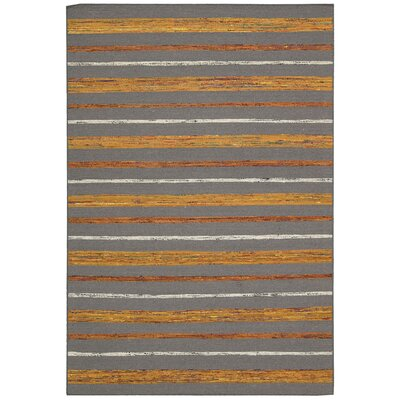 Pine Grove Gray Flame Rug Rug Size: Rectangle 53 x 75