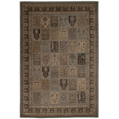 Fernada Brown/Gray Area Rug Rug Size: 53 x 74