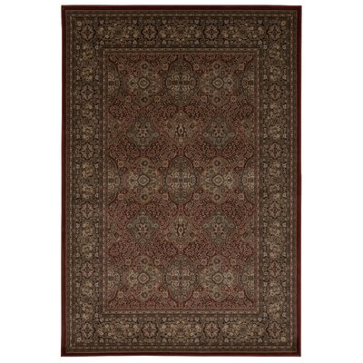 Druid Hill Rust Area Rug Rug Size: Rectangle 93 x 129
