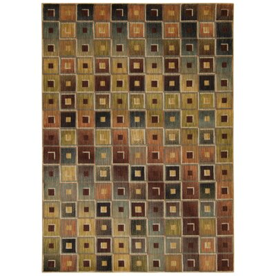 Loria Geometric Area Rug Rug Size: Rectangle 53 x 75