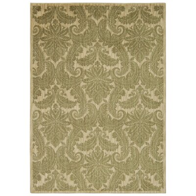 Tewkesbury Khaki Area Rug Rug Size: Rectangle 93 x 129