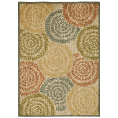 Junaid Light Tan Area Rug Rug Size: 53 x 75