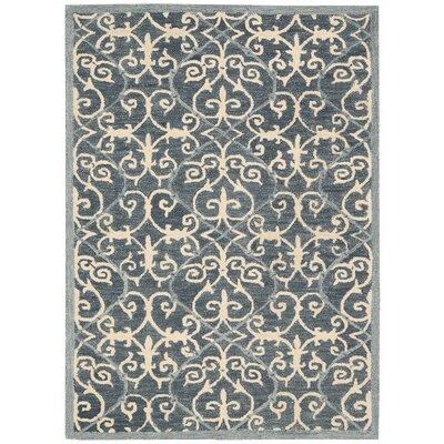 Tracie Hand-Tufted Denim Area Rug Rug Size: Rectangle 8 x 106