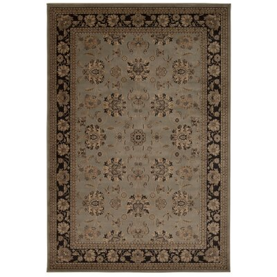 Swenson Gray Oriental Area Rug Rug Size: Rectangle 93 x 129