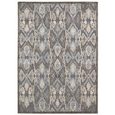Ouellette Taupe Area Rug Rug Size: Rectangle 53 x 73