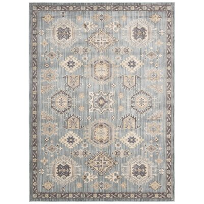 Frantz Seafoam Area Rug Rug Size: Rectangle 53 x 73