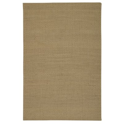 Sojourn Hand-Woven Beige Area Rug Rug Size: 76 x 96